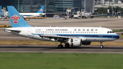 A picture of B6208 - Airbus A319115 - China Southern Airlines - © Samuel Pan