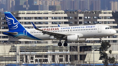 A picture of B307X - Airbus A320214 - China Express Airlines - © XieTM