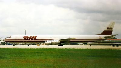 N801DH - Douglas DC-8-73(F) - DHL Airways