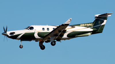N673PC - Pilatus PC-12/45 - Private