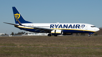 A picture of EIGXJ - Boeing 7378AS - Ryanair - © PAUL LINK