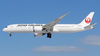 JA875J - Boeing 787-9 Dreamliner - Japan Airlines (JAL)