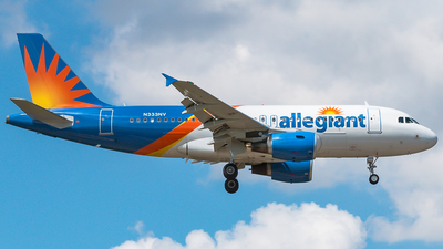 N333NV - Airbus A319-111 - Allegiant Air