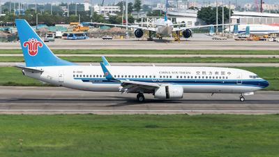 A picture of B1980 - Boeing 73786N - China Southern Airlines - © Lazy Clutch