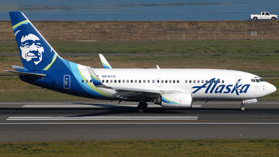 A picture of N618AS - Boeing 737790 - Alaska Airlines - © Jason Whitebird