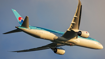 HL8345 - Boeing 787-9 Dreamliner - Korean Air