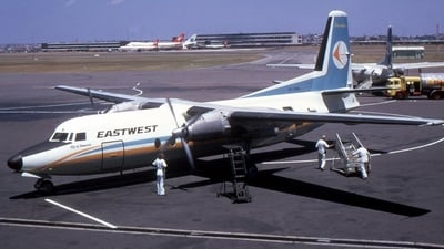 VH-EWA - Fokker F27-100 Friendship - East West Airlines