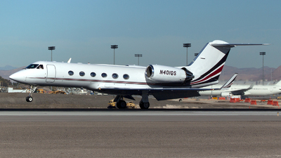 N401QS - Gulfstream G-IV(SP) - NetJets Aviation