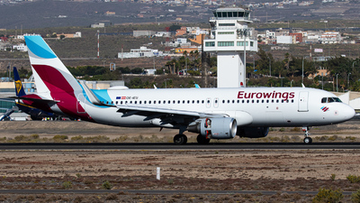 OE-IEU - Airbus A320-214 - Eurowings Europe