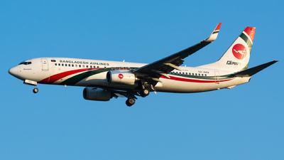 S2-AHV - Boeing 737-8E9 - Biman Bangladesh Airlines