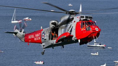 XZ920 - Westland Sea King HAS.5 - United Kingdom - Royal Navy