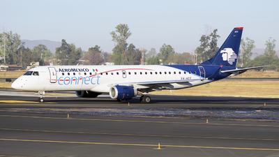 A picture of XAACC - Embraer E190LR - Aeromexico Connect - © Eduardo Manuel