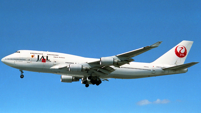 JA8072 - Boeing 747-446 - Japan Airlines (JAL)