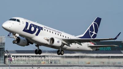A picture of SPLDG - Embraer E170STD - LOT - © Łukasz Jagodziński