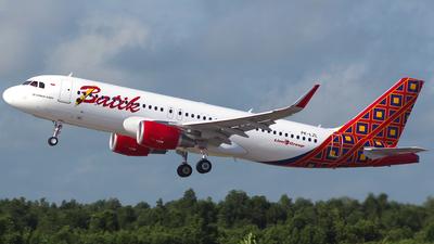 PK-LZL - Airbus A320-214 - Batik Air