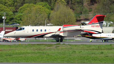 N211BD - Bombardier Learjet 60 - Private