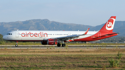 D-ABCQ - Airbus A321-211 - Air Berlin