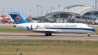 A picture of B605W - Comac ARJ21700 - China Southern Airlines - © Zytx_lspbrother