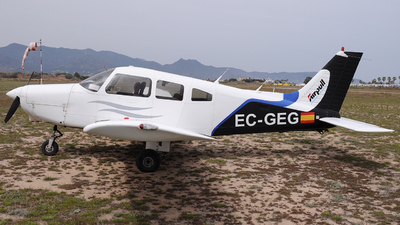A picture of ECGEG - Piper PA28161 Warrior II - [288516003] - © Xevi