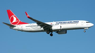 TC-JVV - Boeing 737-8F2 - Turkish Airlines