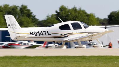 N914TL - Cirrus SR22 G2 - Private