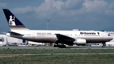 G-BOPB - Boeing 767-204(ER) - Britannia Airways