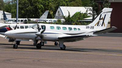 VH-JVB - Cessna 441 Conquest II - Hardy Aviation