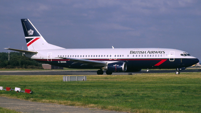 G-BNNK - Boeing 737-4Q8 - British Airways