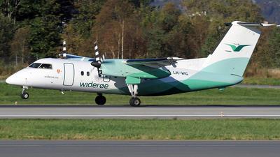 A picture of LNWIG - De Havilland Canada Dash 8100 - Wideroe - © Eddie Heisterkamp