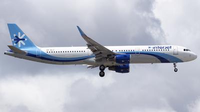 VP-BJT - Airbus A321-211 - Interjet