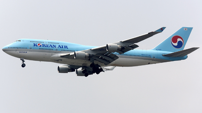 HL7402 - Boeing 747-4B5 - Korean Air