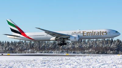 A picture of A6ENF - Boeing 77731H(ER) - Emirates - © Rickard Andersson