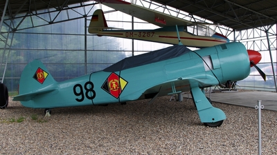98 - Yakovlev Yak-11 Moose - German Democratic Republic - Air Force