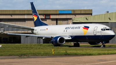 A picture of GJMCK - Boeing 7374D7(SF) - West Atlantic UK - © Jamie PD