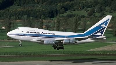 LV-OHV - Boeing 747SP-27 - Aerolíneas Argentinas