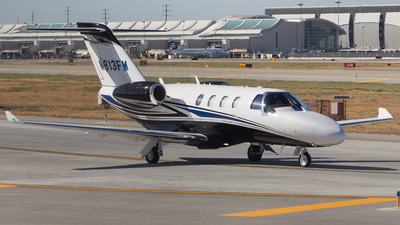 N813FM - Cessna 525 CitationJet 1 - Private