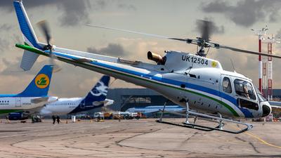 UK12504 - Airbus Helicopters H125 - Uzbekistan Airways