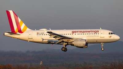 A picture of DAKNG - Airbus A319112 - Eurowings - © Markus Altmann
