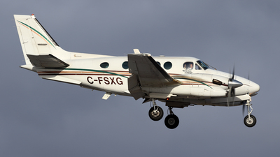 A picture of CFSXG - Beech C90A King Air - Canlink Aviation - © Michael Durning