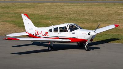 ZK-LJD - Piper PA-28-161 Warrior III - Aero Club - Canterbury