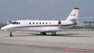 OK-SEM - Cessna 680 Citation Sovereign - Travel Service