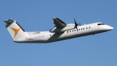 A picture of CFPAE - De Havilland Canada Dash 8300 - PAL Airlines - © Daniel Lapierre Forget