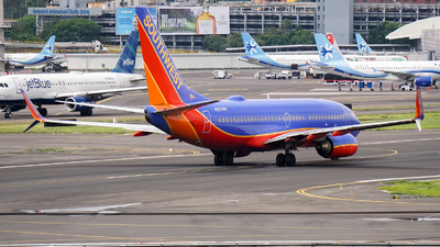N267WN - Boeing 737-7H4 - Southwest Airlines