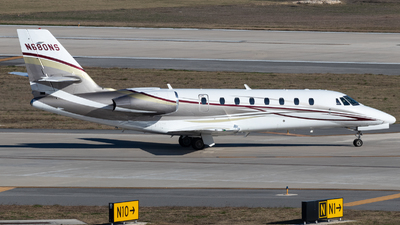 N680NS  - Cessna 680 Citation Sovereign - Private