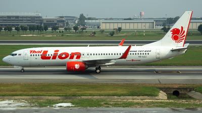 A picture of HSLUJ - Boeing 7378GP - Thai Lion Air - © Indy Udol