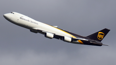 N610UP - Boeing 747-84AF - United Parcel Service (UPS)