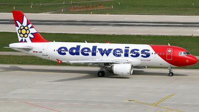A picture of HBJJK - Airbus A320214 - Edelweiss Air - © Mihai Crisan