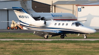 N681GG - Cessna 525 CitationJet M2 - Private