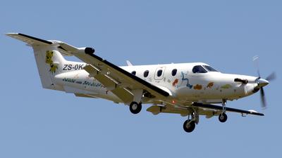 ZS-OKA - Pilatus PC-12/47E - Private