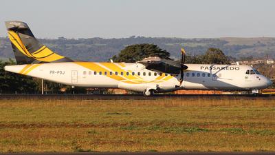 PR-PDJ - ATR 72-212A(500) - Passaredo Transportes Aéreos